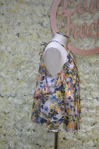 Floral Swing Top