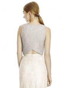 2 Piece lace top and skirt