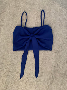 Cobalt Blue Crop Top