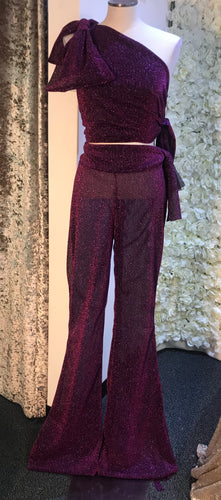 SAMPLE - Glitter Flares & Matching Top (Only One)