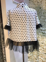 Load image into Gallery viewer, Polka Dot Tulle Top