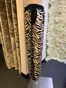 Love Zebra - Full Zebra Bottoms with Tulle Frill