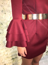 Load image into Gallery viewer, Selena Dress - Burgundy