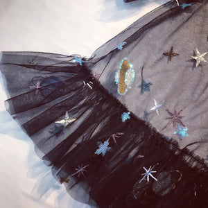 SPACE TULLE TOP