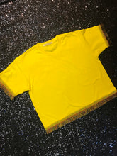 Load image into Gallery viewer, Yellow Festive Tee