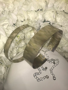 Silver Bar Belts