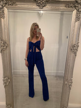 Load image into Gallery viewer, Cobalt Blue Crop Top
