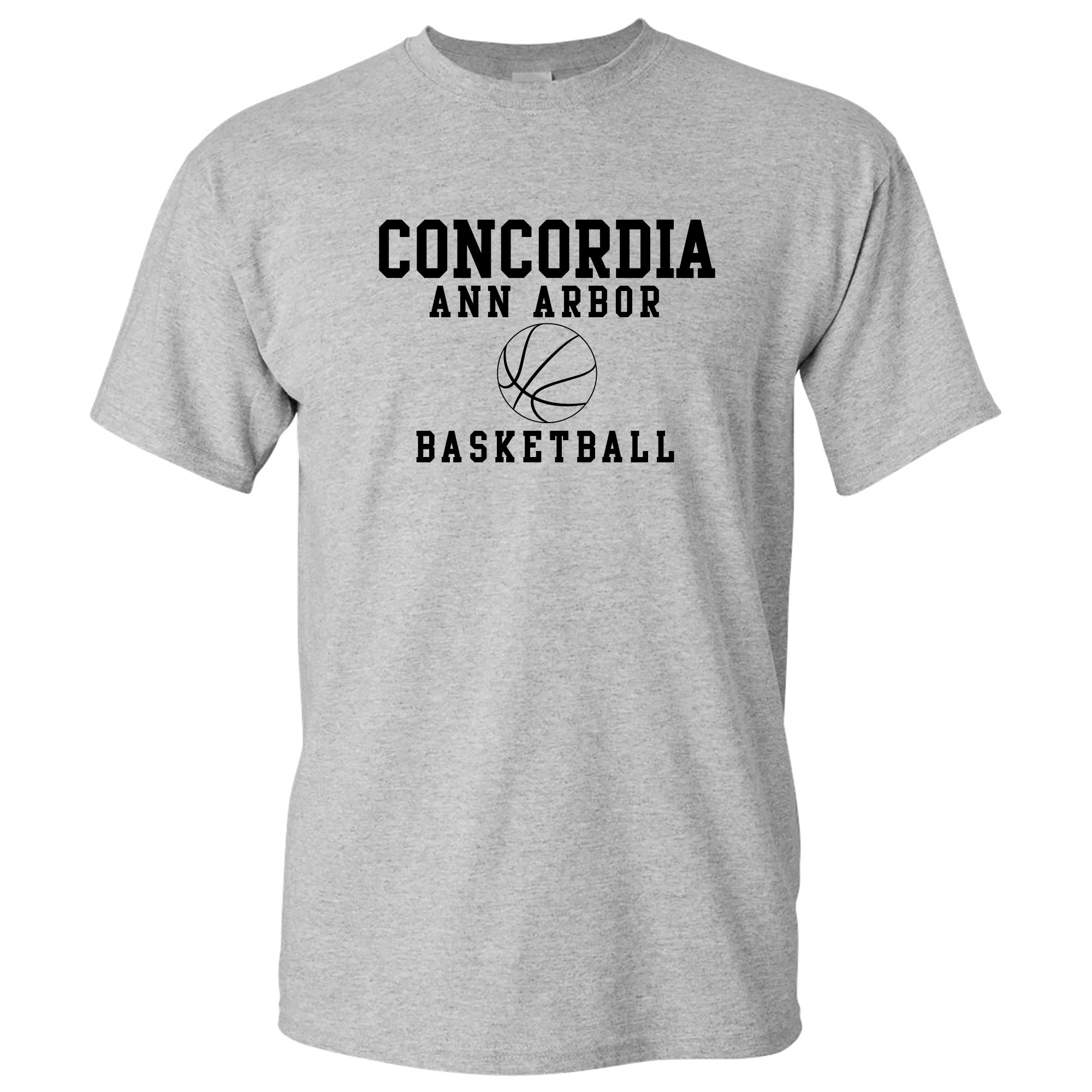 Concordia Basketball T-Shirt - Sport Grey