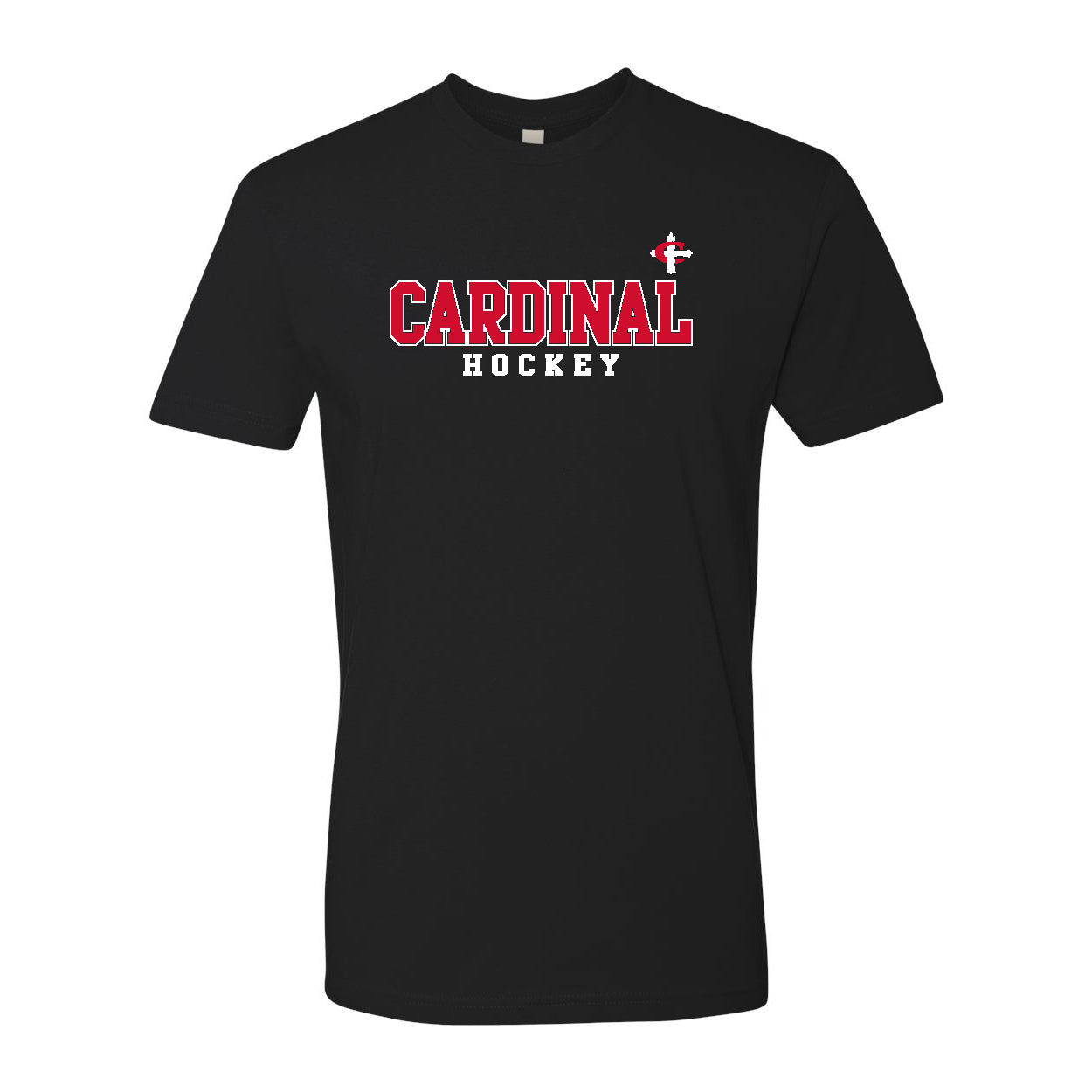 Cardinal Cross Hockey T-Shirt - Black