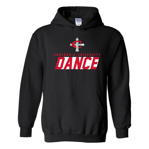CUAA Cardinal Cross Dance Hoodie - Black