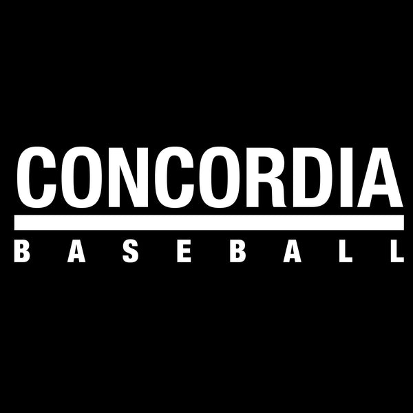 Concordia Baseball T-Shirt - Black
