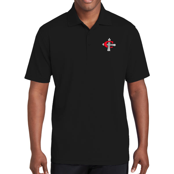 Concordia C Cross Tech Polo - Black
