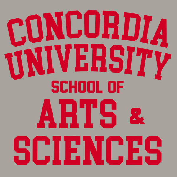 Concordia School of Arts & Sciences T-shirt - Light Grey