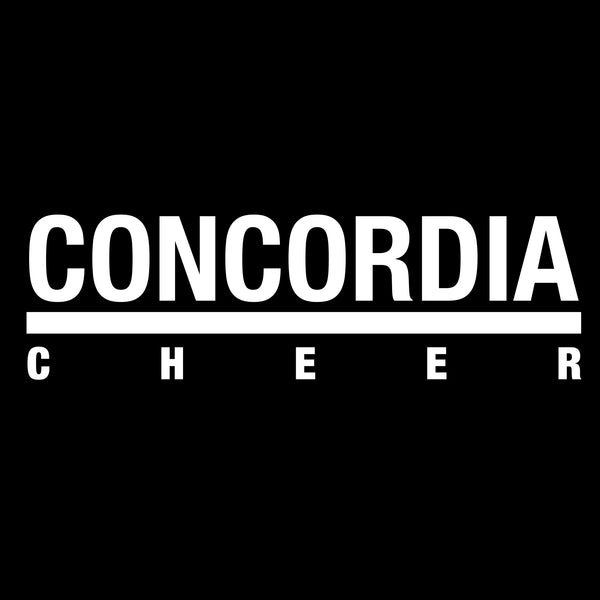 Concordia Cheer T-Shirt - Black