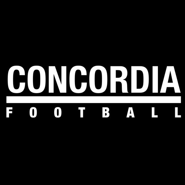 Concordia Football T-Shirt - Black