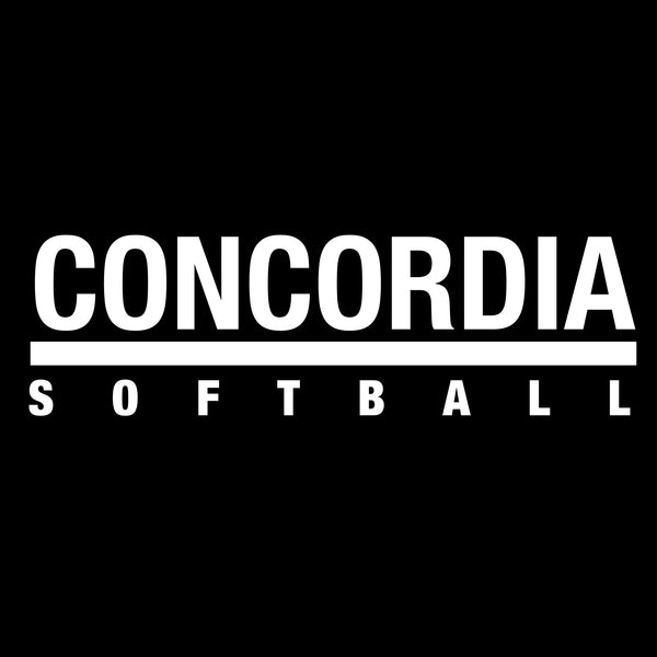 Concordia Softball T-Shirt - Black