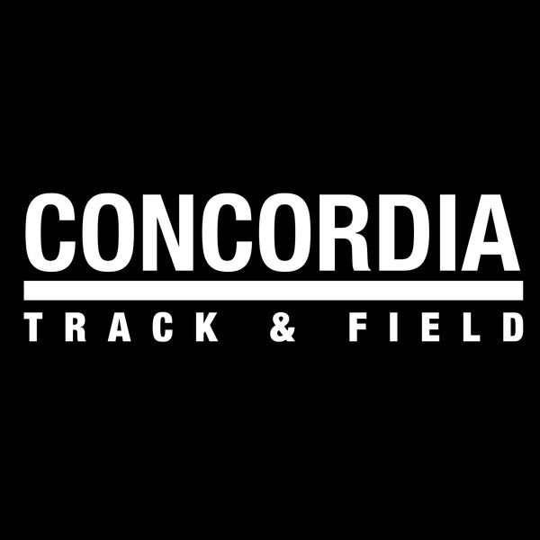 Concordia Track and Field T-Shirt - Black