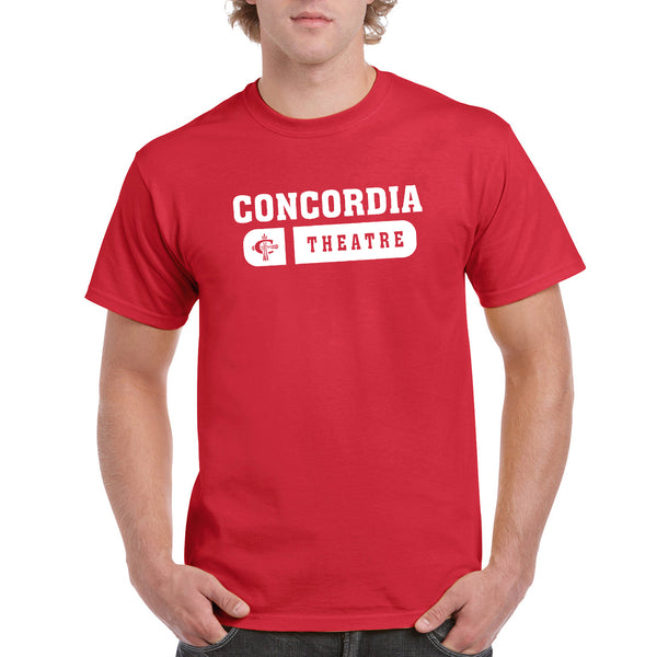 Concordia Theatre Unisex T-Shirt - Red