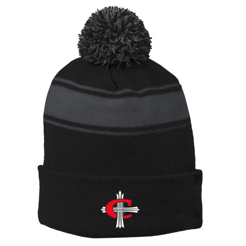 Concordia Winter Hat - Black/Iron Grey