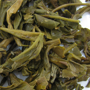 Pu-Erh Tea Cake, Yiwu High Mountain Big Tree Spring Tea, Ching Yuen Tea Factory, 2003 (Green/Sheng)