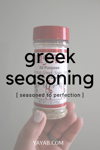 greek seasoning blend yayab