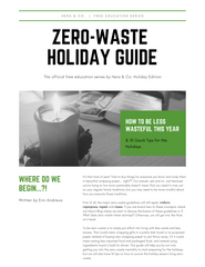 Zero-Waste Holiday Guide