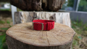 Clover Straps braided strap - RED