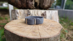Clover Straps braided strap - GRAY