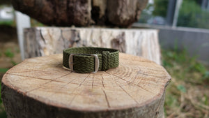 Clover Straps braided strap - ARMY GREEN