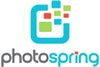 PhotoSpring Logo Stacked