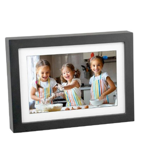 "PhotoSpring 8 - 8"" Wi-Fi Digital Photo Frame & Album - Touchscreen, Battery, 1280x800 IPS Display"