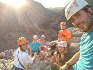 Vía Ferrata El Chorro - domingo 28 oct'18 - Madaura