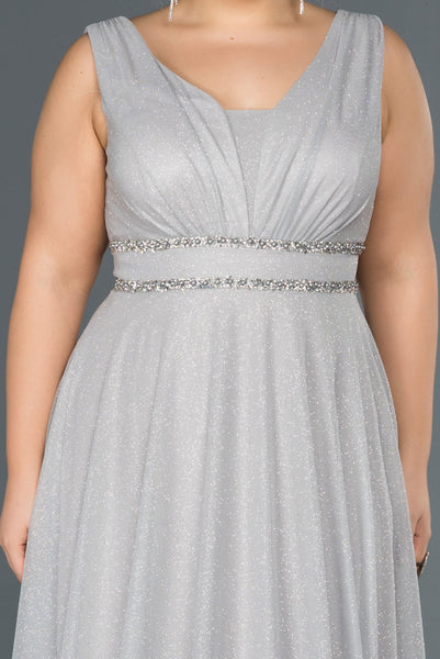 Evee Silver Plussize - Dindress