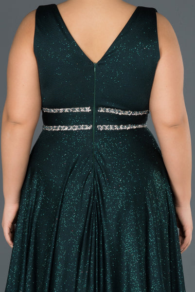 Evee Emerald Plussize - Dindress
