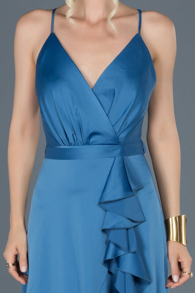 Indigo Satin - Dindress