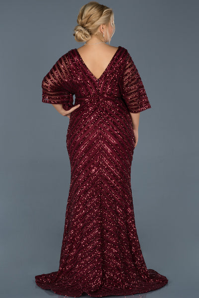 Elegant Burgundy - Dindress