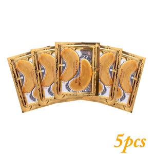 24k Gold Gel Eye Mask Eyelid Patch Anti Wrinkle Eye Care gold