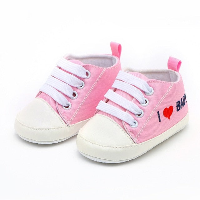 First Walkers Kid Shoes Newborn Baby Girls and Boys