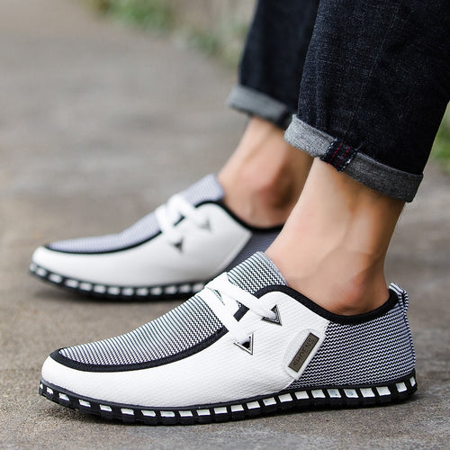England Trend Casual Shoes Leather Shoes