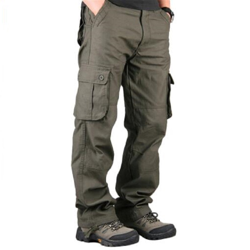 Men's Cargo Pants Casual Multi Pockets Military Tactical Pants