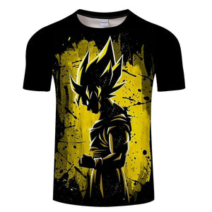 Dragon Ball Z Ultra Instinct Goku Super Saiyan Men Tshirt