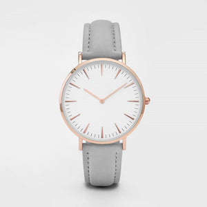 New Fashion Simple Leather Women Watches