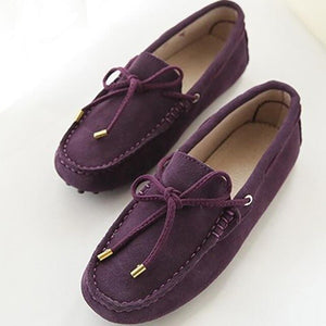 Women Flats Genuine Leather Women Shoes