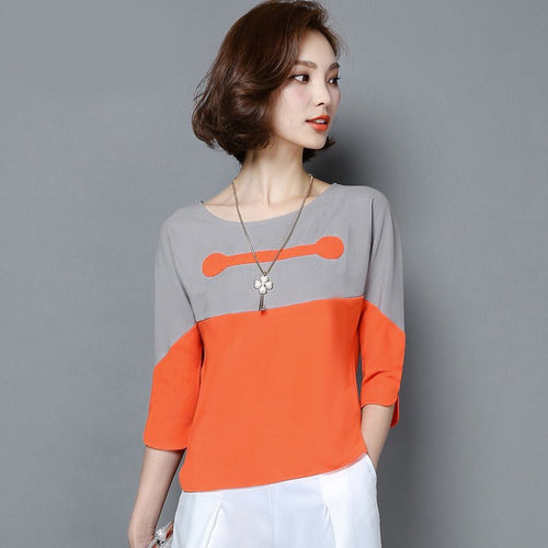 Women Shirt 8 Style Cotton Shirt