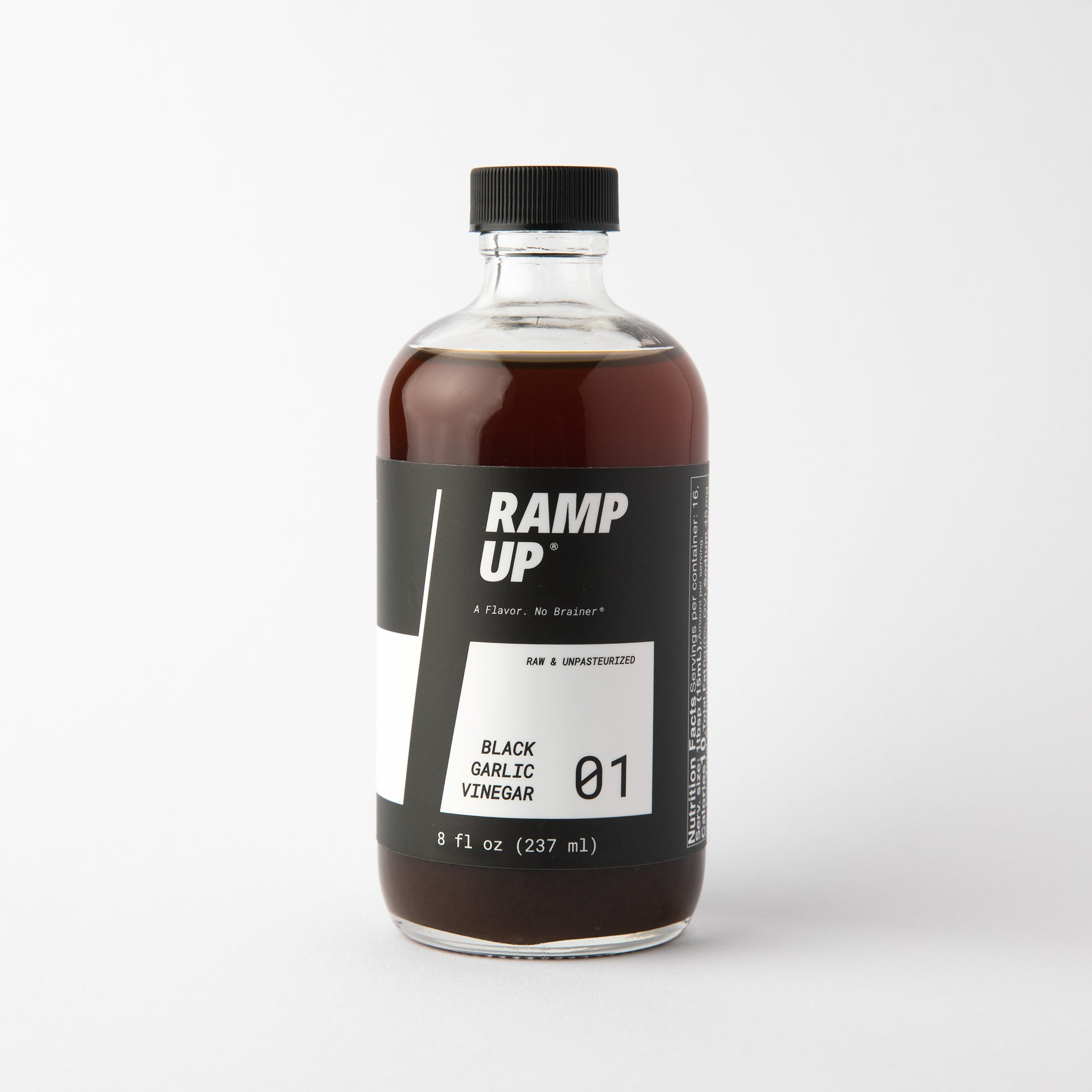 Ramp Up Black Garlic Vinegar 8 oz