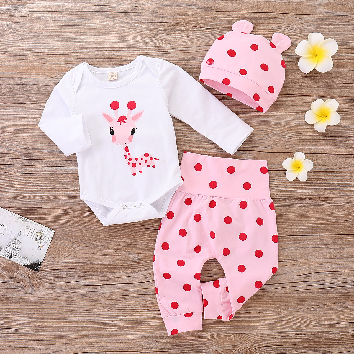 f00fc3889 Lovely Lady Bug Long-Sleeve Top and Pattern Pants - Momsby