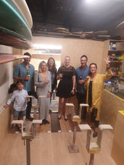 Noosa board repairs opening night