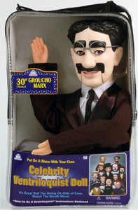 DELUXE VENTRILOQUIST DUMMY DOLL - GROUCHO MARX
