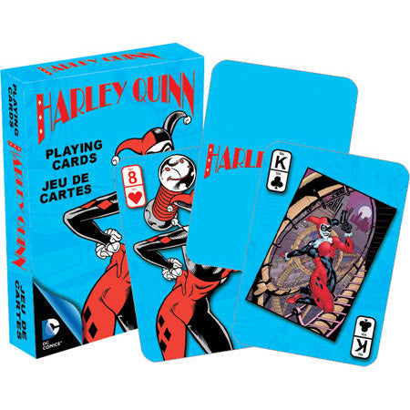 CARD GAMES DC Comics Harley Quinn Retro Playing Cards