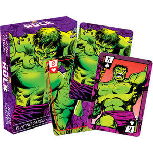 CARD GAMES Marvel – The Hulk Comics Playing Cards